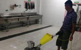 食堂地面防滑处理