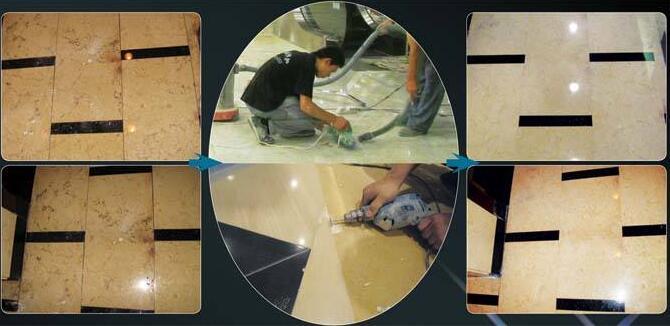 石材病变处理-变色、反碱、修补